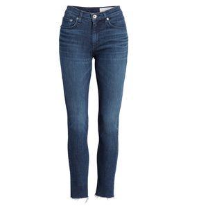 Raw Hem Ankle Skinny Jeans RAG & BONE